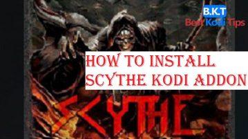 How to Install Scythe Kodi Addon