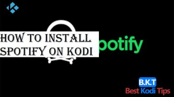 How to Install Spotify on Kodi