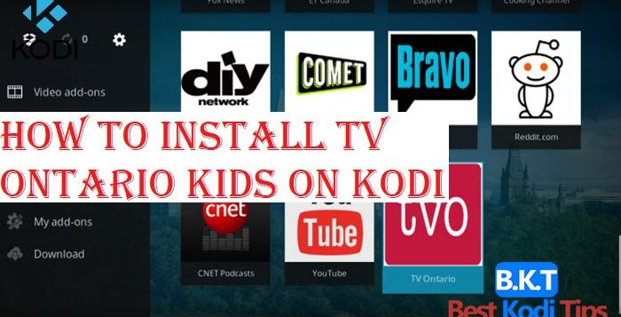 How to Install TV Ontario Kids on Kodi
