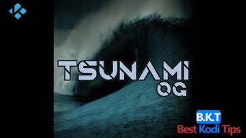 How to Install Tsunami OG on Kodi