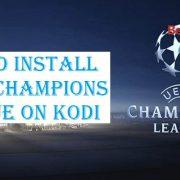 How to Install UEFA Champions League on Kodi