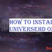 How to Install UniverseHD on Kodi