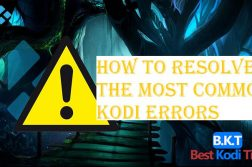 How to Resolve The Most Common Kodi Errors