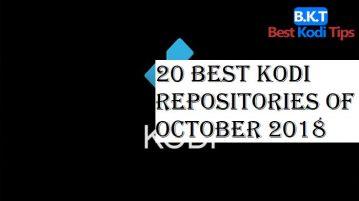 20 Best Kodi Repositories of October 2018