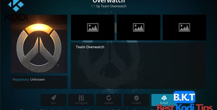 How to Install Overwatch Build on Kodi
