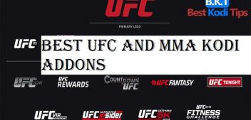 Best UFC and MMA Kodi Addons November 2018