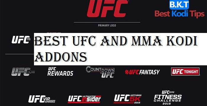 Best UFC and MMA Kodi Addons February 2019