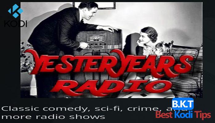 How to Install YesterYears Radio Kodi Addon