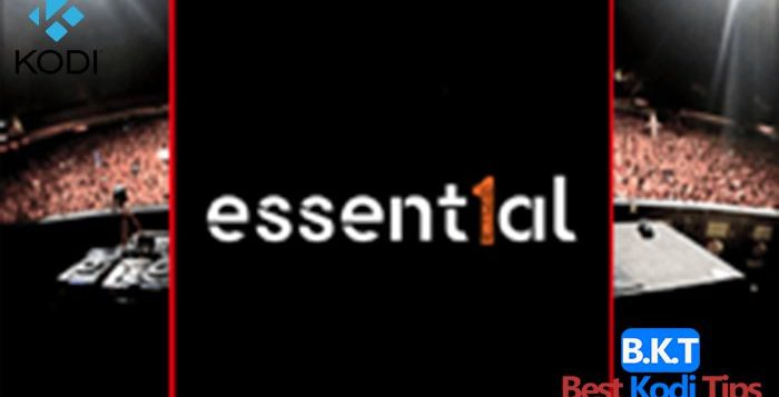How to Install Essential Addon on Kodi