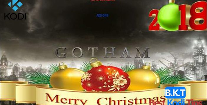 How to Install Gotham Xmas Kodi Build
