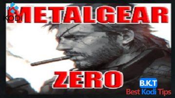 How to Install Metalgear Zero Kodi