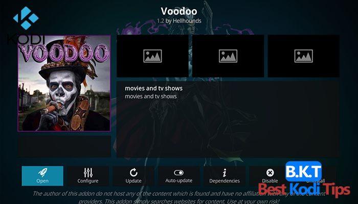 How to Install Voodoo on Kodi