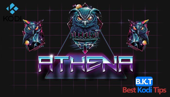 How to install Athena on kodi