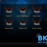 how to install Phoenix Rises on kodi