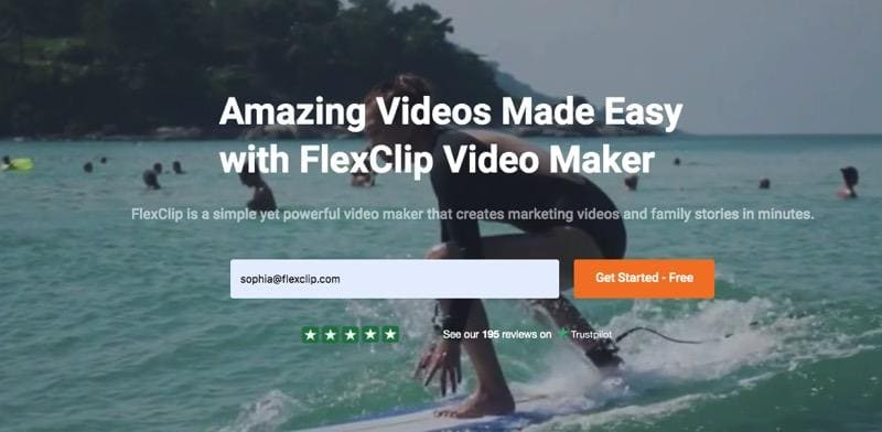 How to create and edit free videos with FlexClip 1