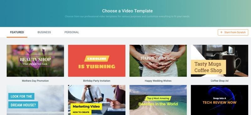 How to create and edit free videos with FlexClip 3
