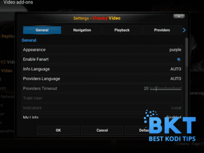 How to Install Chucky Addon on Kodi