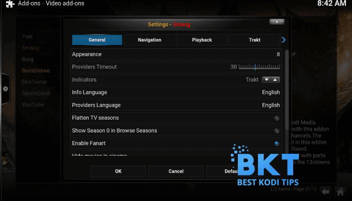 How to Install Smaug Addon on Kodi