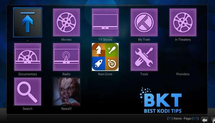 How to Install Chucky Video on Kodi