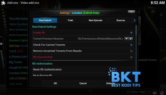 How to Install Locutus Addon on Kodi