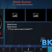 How to Install Blade Runner Addon on Kodi 18 Leia