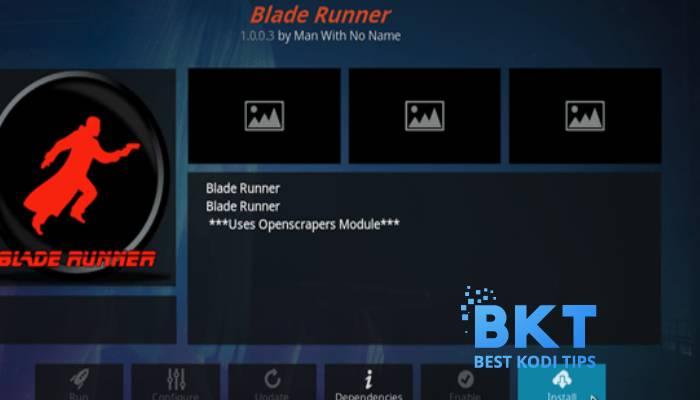 How to Install Blade Runner Addon on Kodi 18 Leia