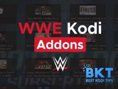best wwe wrestling kodi addons