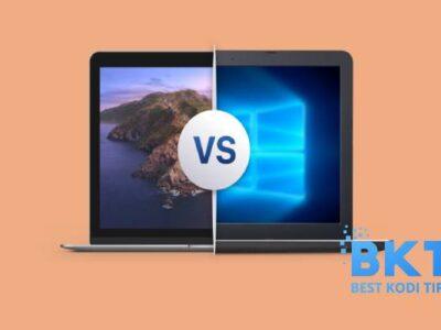 Windows Laptops Versus MacBook