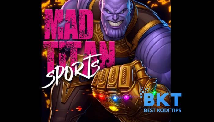 How to Install Mad Titan Sports Addon on Kodi
